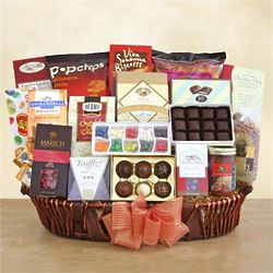 Grand Gathering Gourmet Gift Basket