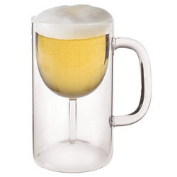 Beer Deaux Glass