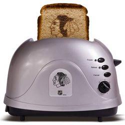 Chicago Blackhawks Silver Team Logo Pro Toaster