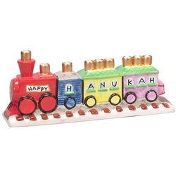 Hanukah Train Menorah