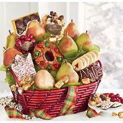 Mistletoe Christmas Gift Basket