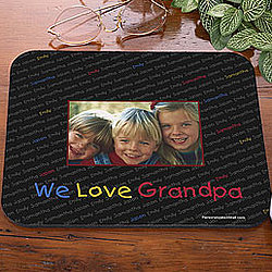 My Little Ones Personalized Photo Mouse Pad