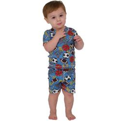 Play Ball Short Pajamas for Infants