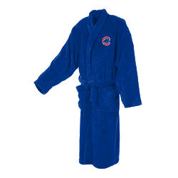 Chicago Cubs Men's Ultra Plush Bathrobe