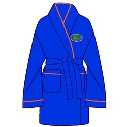 Ladies University of Florida Solid Cozy Bathrobe
