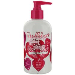 Sweet Hearts All Natural Sparkly Body Lotion