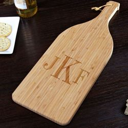 Classic Monogram Bamboo Cutting Board