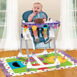Sesame Street 1st Birthday High Chair Decorating Kit