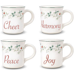 Winterberry Holiday Sentiment Mug