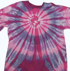Lollipop burst kid 39 s tie dye t shirt for Order tie dye roses online