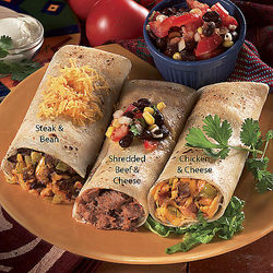 Six Burrito Fiesta Assortment
