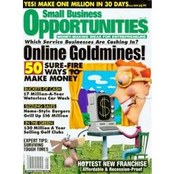 Small Business Opportunities Magazine Subscription
