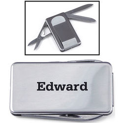 Polished Stainless Steel Money Clip