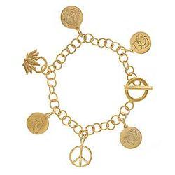 Mandala Charm Bracelet