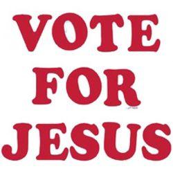 Vote for Jesus T-Shirt