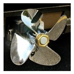 Propeller Trailer Hitch Cover