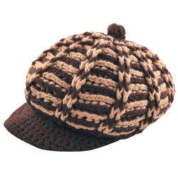 Chunky Knit Brim Hat