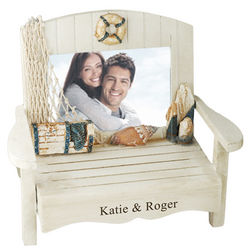 Beach Bench Picture Frame