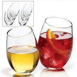 Hocking Stemless Wine Glasses