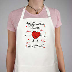 Loves Me This Much Personalized Apron