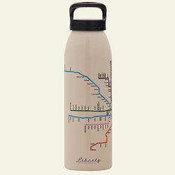 Mass Transit Reusable Aluminum Water Bottle