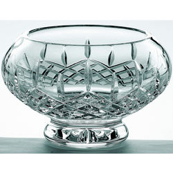 "Crystal Longford 8"" Footed Bowl"