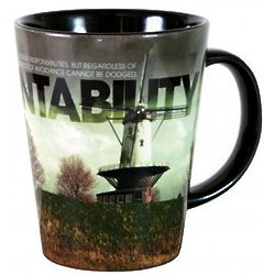Accountability Windmill Ceramic Latte Mug