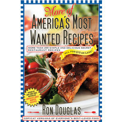 More of America's Most Wanted Recipes Cookbook
