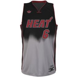 LeBron James Miami Heat Fadeaway Swingman Jersey