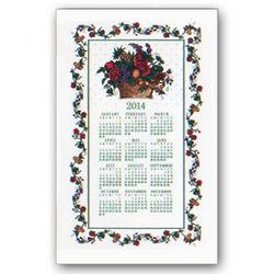 2014 Fruits and Flowers Calendar Towel