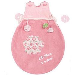 Personalized Lilirose Baby Pink Sleep Sack