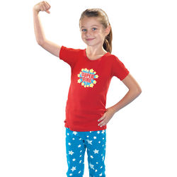 SuperGirl Pajamas for Girls
