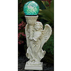 Solar Angel Gazing Ball