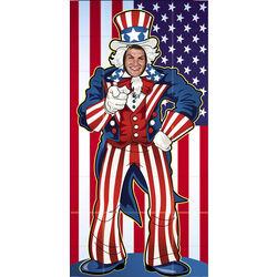 Uncle Sam Photo Door Banner