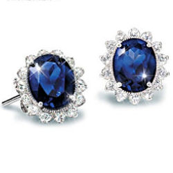 Matching Earrings to the Kate Middleton Engagement Ring Replica