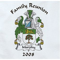 Child's Family Reunion Personalized Coat of Arms T-Shirt