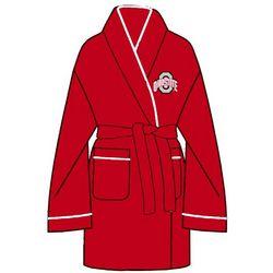 Ladies Ohio State University Solid Cozy Robe