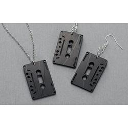 Cassette Tape Pendant