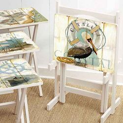 Shore Birds TV Trays