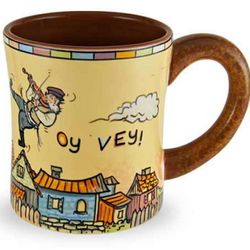 Oy Vey Ceramic Coffee Mug