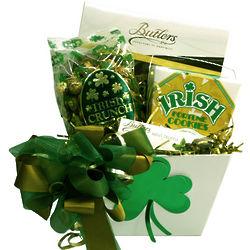 Lucky Irish Gift Basket