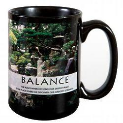 Balance Zen Garden Ceramic Mug