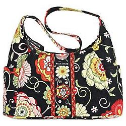 Sanibel Curve Quilted Hobo Handbag