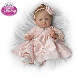 Pretty as a Princess Realistic Baby Doll