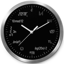 Equation Geek Clock