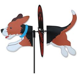 Beagle Dog Wind Spinner