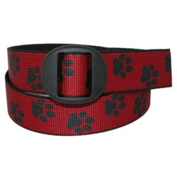 Women's Paw Print Jean Belt