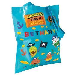 Halloween Pirate Treat Bag Craft Kit