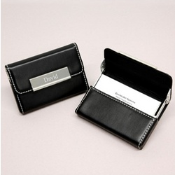 Sleek & Chic Personalized Business Card Case
