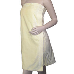 Women's Terry Cloth Spa Shower Wrap